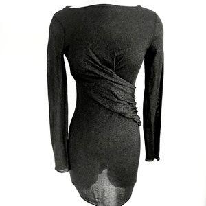 NWT Zara Knit Metallic Fitted Dress